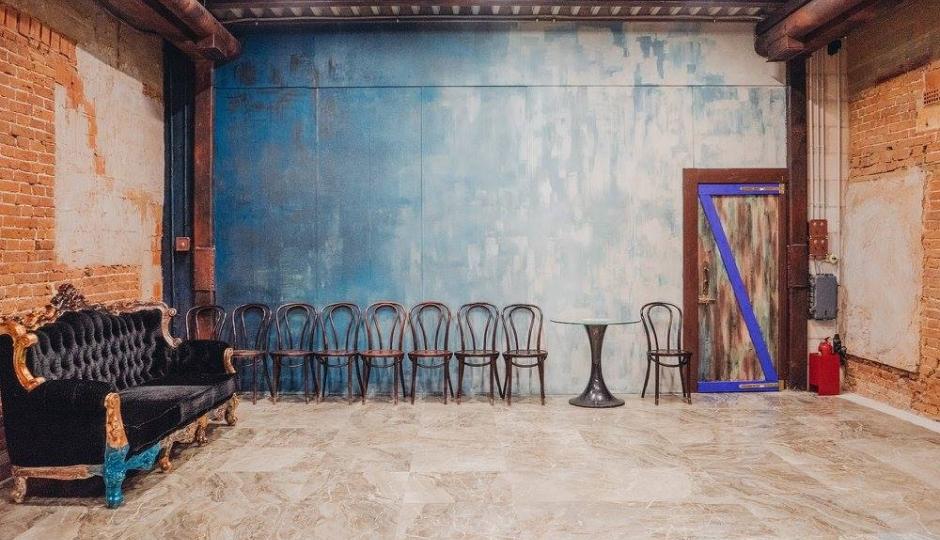 фотостудия акварельные стены